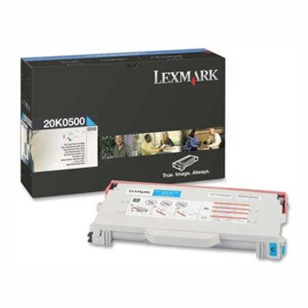 Lexmark 20K0500 Original Cyan Toner Cartridge
