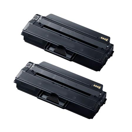 MLT-D115L Black Remanufactured Toner Cartridge Twin Pack