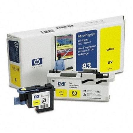 HP 83 (C4963A) Original Yellow UV PrintHead