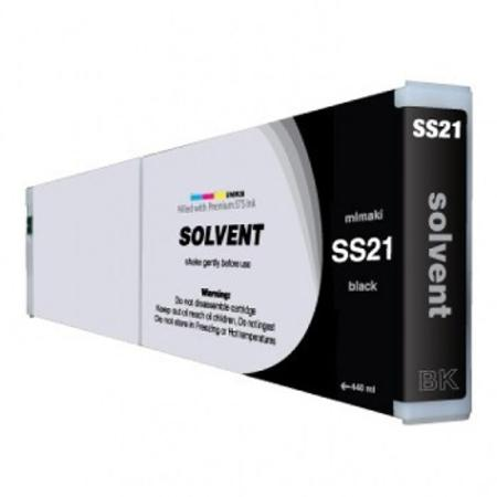 Mimaki SS21 Compatible Mild-Solvent Black Inkjet Cartridge