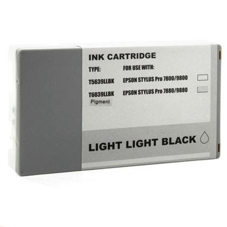 Epson T603900 (T6039) Light Light Black Remanufactured Ink Cartridge