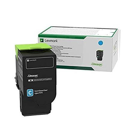 Lexmark C231HC0 Cyan Original High Capacity Toner Cartridge