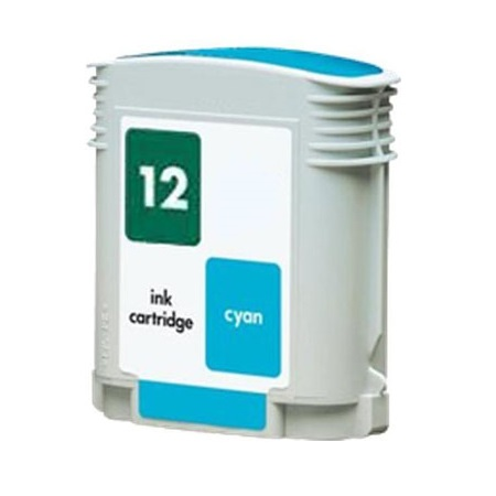 HP 12 Cyan Remanufactured Printer Ink Cartridge (C4804A)