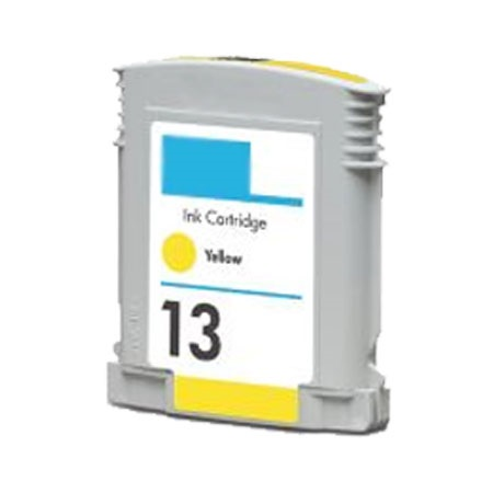 HP 13 Yellow Remanufactured Ink Cartridge (C4817A)