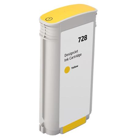 Compatible Yellow HP 728 High Yield Ink Cartridge (Replaces HP F9J65A)