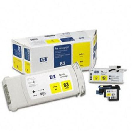 HP 83 Original Yellow UV Value Pack (C5003A)