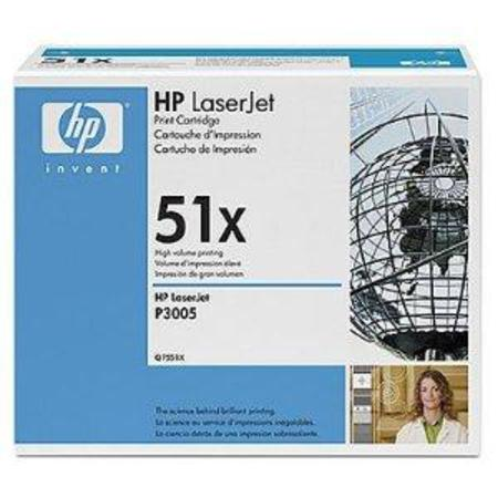 HP LaserJet 51X (Q7551X) Original Black Toner Cartridge