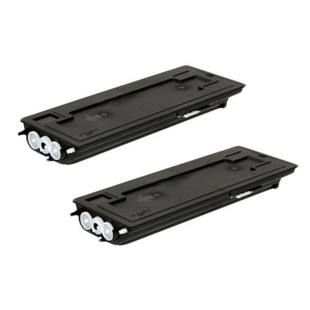 TK-437 Black Remanufactured Toners Twin Pack