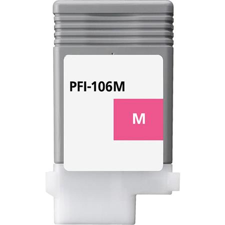Canon PFI-106M (6623B001AA) Magenta Compatible Ink Cartridge