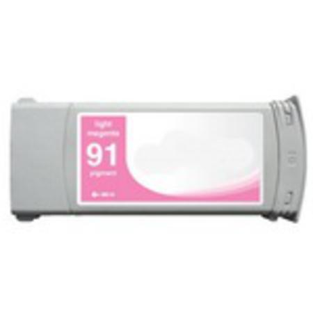 Compatible Light Magenta HP 91 Pigment Ink Cartridge (Replaces HP C9471A) (775ml)