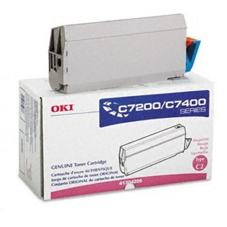 OKI 41304206 Magenta Original Toner Cartridge