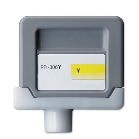 Compatible Yellow Canon PFI-306Y Ink Cartridge (Replaces Canon 6660B001AA)