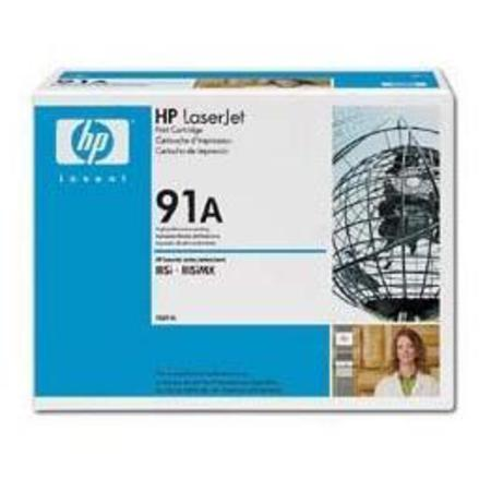 HP LaserJet 91A (92291A) Black Original Standard Capacity Print Cartridge with Microfine Toner