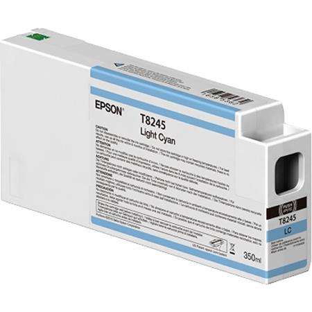 Epson T8245 (T824500) Light Cyan Original UltraChrome HDX Ink Cartridge (350 ml)