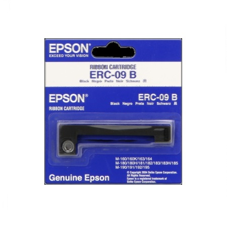Epson ERC-09B Black Original Ribbon Cartridge