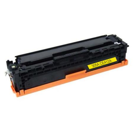 HP 305A Yellow Remanufactured Standard Capacity Toner Cartridge (CE412A)