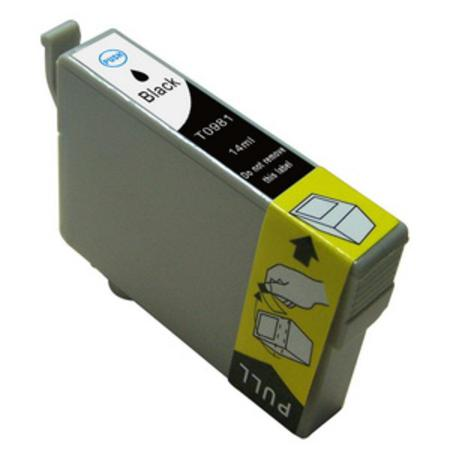 Epson T0981 (T098120) Black Remanufactured Ink Cartridge