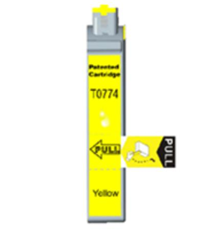 Epson T0774 (T077420) High Capacity Original Yellow Cartridge
