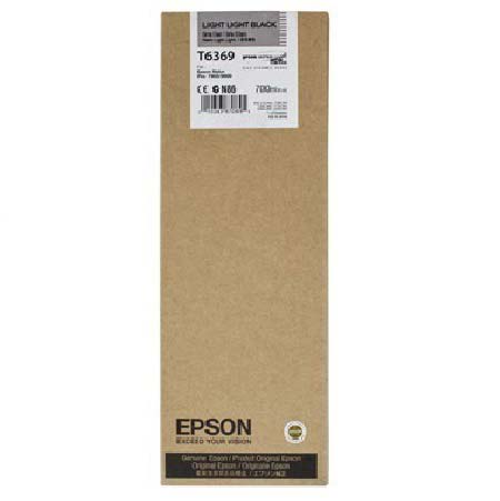 Epson T6369 (T636900) Original Light Light Black Ink Cartridge