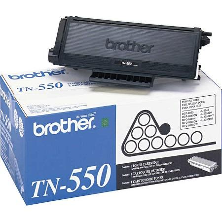 Brother TN550 Black Original Standard Capacity Toner Cartridge