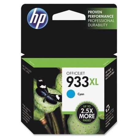 HP 933XL Cyan Original High Capacity Ink Cartridge (CN054AN)