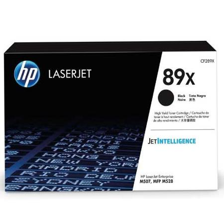 HP 89X (CF289X) Black Original High Capacity Toner Cartridge