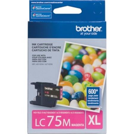 Brother LC75 (LC75M) Magenta Original High Yield Ink Cartridge