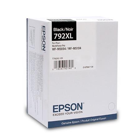 Epson 792XL (T792XL120) Black Original High Capacity Ink Cartridge