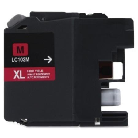 Compatible Magenta Brother LC103M High Yield Ink Cartridge