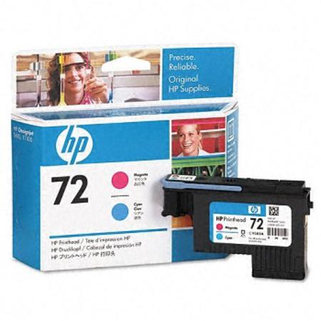 HP 72 (C9383A) Original Cyan And Magenta PrintHead