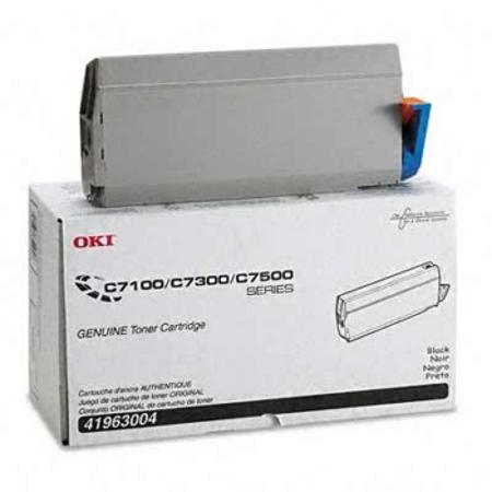 OKI 41963004 Black Original Toner Cartridge