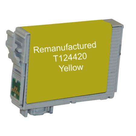 Epson 124 Yellow Remanufactured Moderate Capacity Ink Cartridge