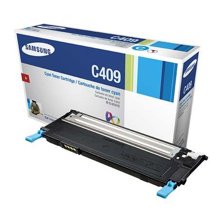 Samsung CLT-C409S Cyan Original Toner Cartridge