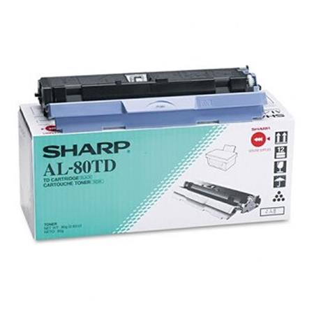 Sharp AL80TD Black Original Toner Cartridge