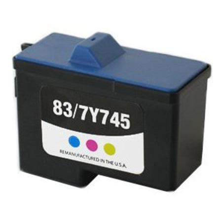 Dell 7Y745 Remanufactured Color High Yield Ink Cartridge