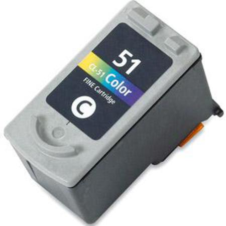 Canon CL-51 Color High Capacity Remanufactured Cartridge