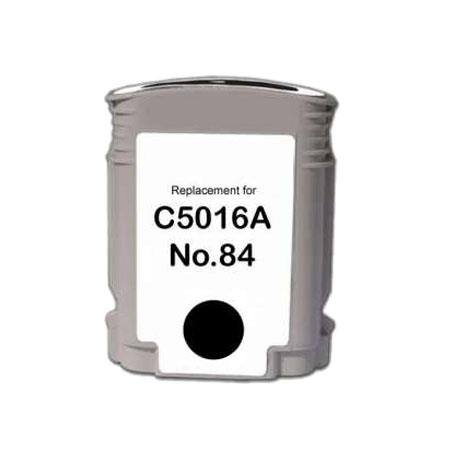 HP 84 Remanufactured Black Ink Cartridge (C5016A)