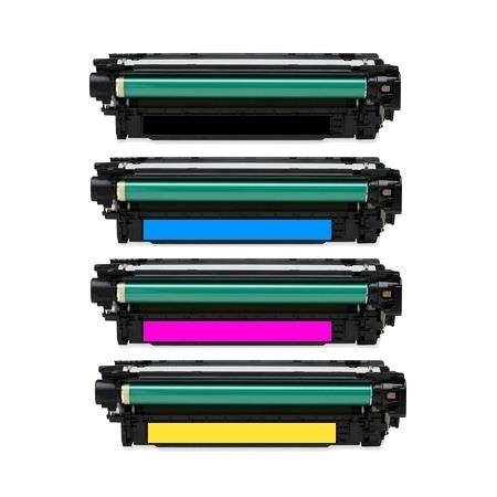 651A Full Set Remanufactured Toner Cartridges