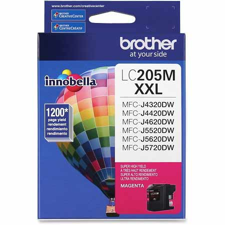 Brother LC205M Original Magenta Extra High Capacity Ink Cartridge