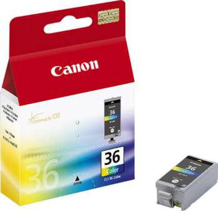Canon CLI-36 Original Colour Ink Cartridges