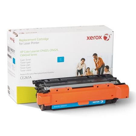 Xerox Premium Replacement Cyan Toner Cartridge for HP 648A (CE261A)