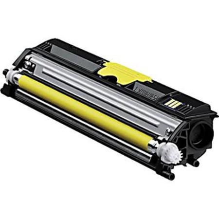 Konica-Minolta A0V306F High Yield Yellow Remanufactured Toner Cartridge
