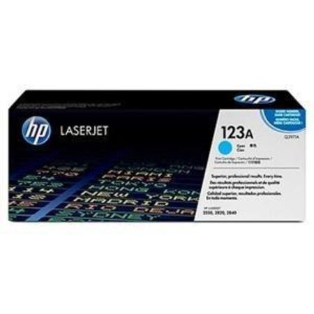 HP Color LaserJet Q3971A Cyan Original Print Cartridge with Smart Printing Technology