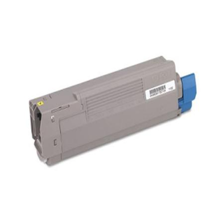 OKI 43381901 Yellow Remanufactured Standard Capacity Toner Cartridge