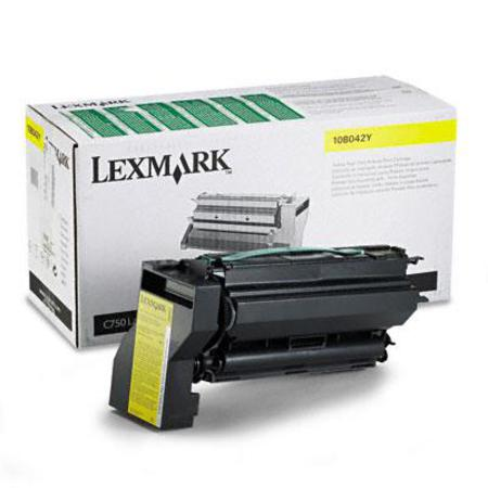 Lexmark 10B032Y Original Yellow High Yield Toner Cartridge