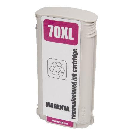 HP 70 Remanufactured Magenta Ink Cartridge (C9453A)