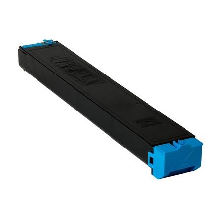 Sharp MX23NTCA Cyan Remanufactured Toner Cartridge