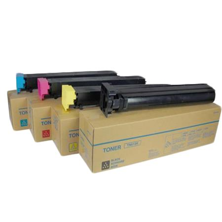 Minolta 8938-701/04 K/C/M/Y Full Set Original Toner Cartridges