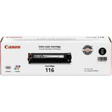Canon 116 Black Original Laser Toner Cartridge