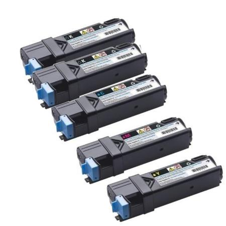 Clickinks 330-1433/36/37/88 Full Set + 1 EXTRA Remanufactured Toners